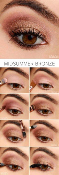 Best Eyeshadow Tutorials - Navy and Plum Smokey Eyeshadow Tutorial - Easy Step by Step How To For Eye Shadow - Cool Makeup Tricks and Eye Makeup Tutorial With Instructions - Quick Ways to Do Smoky Eye, Natural Makeup, Looks for Day and Evening, Brown and Smokey Eyeshadow Tutorial, Eyeshadow Tutorial For Beginners, Bronze Eyeshadow, Eyeshadow Tutorials, Makeup Eyeshadow, Makeup Brushes, Eyeshadow Ideas, Brown Eye Makeup Tutorial, Brown Eyes Makeup