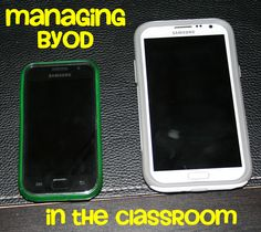 Classroom management in the BYOD (Bring your own device) classroom - this is a very interesting read, and explains how to go about setting up a BYOD classroom High School Classroom, Classroom Fun, Flipped Classroom, Classroom Setting, Classroom Organization, Organizing, Teaching Technology, Educational Technology, Technology Integration