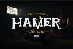 Hamer Typeface by madeDeduk on @creativemarket