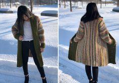 Crochet Poncho Patterns, Crochet Jacket, Crochet Pattern, Crochet Designs, Crochet Ideas, Crochet Projects, Crochet Sweaters, Crochet Clothes, Pattern Ideas