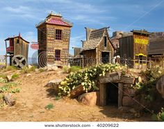 Wild West - Open Air Museum Stock Photo - Image of valley, scenery: 11465682 Springville Utah, Old West Town, Puzzle Of The Day, Utah Usa, America And Canada, Zion National Park, Ghost Towns, Wild West, Wonders Of The World
