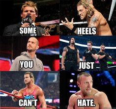 Some heels you just can't hate. Except the Shield. When it takes 3 guys to beat up one, it might be time to rethink your talent