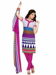 Riti Riwaz Pink Cotton Designer Salwar Suit - VL3731