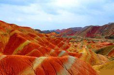 Danxia Mountains - China