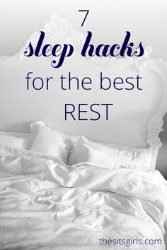 Everything you need to know about falling asleep, and how to sleep better at night.  I love the breathing exercise in # 6.