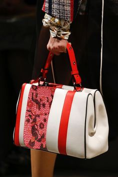 Prada bag with Indonesian culture of batik design.