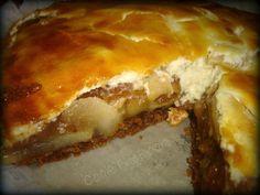 German apple pie/Μηλόπιτα η γερμανική