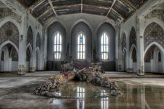 Mystery solved: Los Angeles artists created installation inside abandoned church