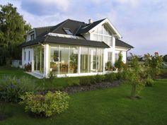 moderner wintergarten mit schiebet ren wintergarten. Black Bedroom Furniture Sets. Home Design Ideas
