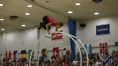 WC 2013  in Wheel Gymnastics  Junior men straight line Final Luca Christ...