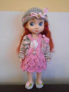 Monika.M / sada kvetinka - oblečenie pre bábiku