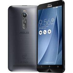 Smartphone Asus Zenfone 2 Dual Chip Desbloqueado Android 5.0 Lollipop Tela 5.5 32GB 4G Wi-Fi Câmera 13MP - Prata