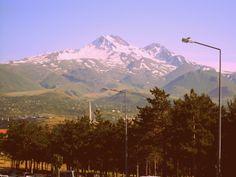 Kayseri'nin gururu Erciyes Dağı..