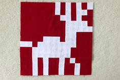Freshly Pieced Modern Quilts: Fair Isle Sew Along, Part 4: Reindeer