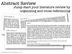 Synthesis Matrix For Literature Review  Literature Writing