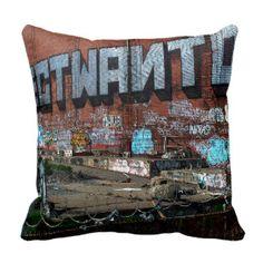 San Francisco Graffiti Custom Printed Pillow