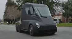 Tesla Semi Prototype Scooped Testing On Public Roads #news #Scoops
