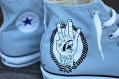 The Shark Face Gang  Macklemore & Ryan Lewis The by BStreetShoes