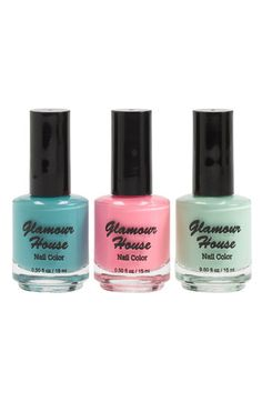 Glamour House Nail Polish (3-Pack) #Nordstrom