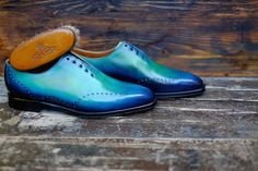 """Dandy Shoe Care collaboration with J.FitzPatrick in the""""Tony II"""" model  http://www.theshoesnobblog.com/"""