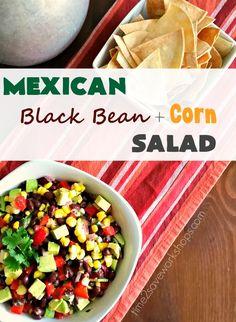 Mexican Black Bean and Corn Salad Recipe