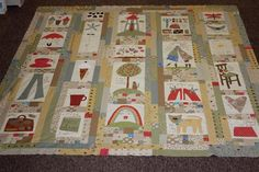 Some Kind Of Wonderful - Anni Downs finished quilts - Chookyblue . - Picasa Web Albums
