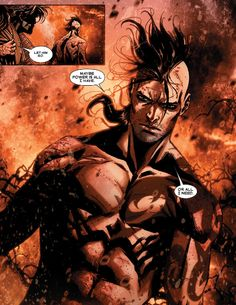 Remember that time an artist actually made Daken look beautiful? God bless you, Marco Checchetto. (Daken: Dark Wolverine # 9)