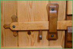 Homemade Wooden Door Latches