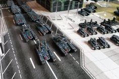 UCM Tanks by Cry of the Wind Sci Fi Miniatures, Painting Competition, Drop Zone, Armed Forces, Tabletop, Cry, Tanks, Scale, Geek