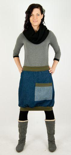 JEANSROCK  KHAKI von LINEA MANO auf DaWanda.com