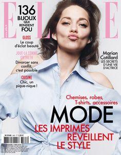 Marion Cotillard, cover girl de ELLE  - ELLE