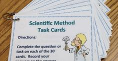 Have you tried task cards with your students? Task cards are a fantastic way to reinforce lessons, review difficult conc...