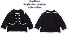 Prince George Looks Snappy in Double-Breasted Cotton Cardigan for Family Photo British brand, Powell Craft.