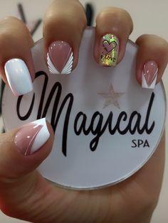 Valentine Nail Art, Valentines, Lilac Nails With Glitter, Diy Acrylic Nails, Manicure, Semi Permanente, Trendy Nails, Nail Art Designs, Make Up