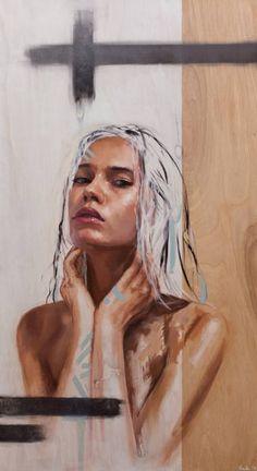 "Saatchi Art Artist HULA Sean Yoro; Painting, ""Mau Loa"" #art"