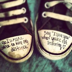 """Distance"" Christina Perri with Jason Mraz. Maybe I should do this with my shoes :)"