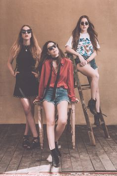 Haim : The Coachella 2015 Portrait Sessions Photo by Brantley Gutierrez