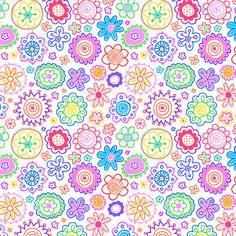 FLOWER PATTERN by HELEN PICKUP, via Flickr