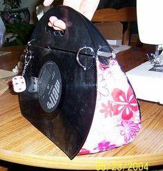 Mod record purse