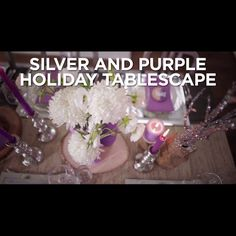 Pastel Holiday Table Setting