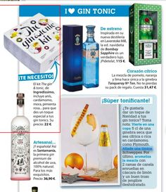En Cocina Diez han preparado un especial I <3 Gin Tonic y no podía faltar en él nuestro The Gin&Tonic Kit ;)