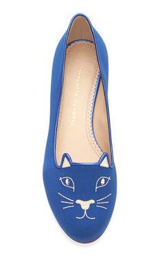 Charlotte Olympia : Kitty Flat