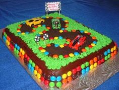 Hot Wheels Racing League: Hot Wheels Birthday Party Cakes - Sweet! #hotwheels #cakes