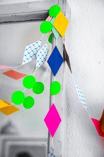 Geometric Bright Shapes Rie Elise Larsen Paper