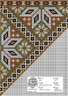 Bunad, Smykker, vev & rosemaling: Bringeduk i kobber-toner og mosegrønt. Loom Beading, Beading Patterns, Cross Stitch Designs, Cross Stitch Patterns, Scandinavian Embroidery, Bargello Quilts, Bead Crochet Rope, Needlepoint Pillows, Chart Design