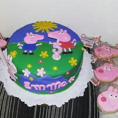 Peppa Pig, Birthday Cake, Virginia, Desserts, Instagram, Food, Pastries, Food Cakes, Cookies