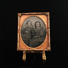 Here's another great tintype from the mid-late 1800s. Have a look at one of the largest selections of tintype, daguerreotype, and ambrotype photos at Royal Antiques Co on Etsy!