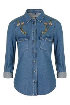 MOTO Fitted Western Shirt