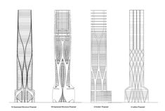 Gallery of Structural Design of Zaha Hadid's 1000 Museum Revealed in CAD Drawings - 1