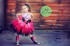 Pink Pirate Tutu Outfit in Girls 3 4T by Baby2BNashville on Etsy, $96.00